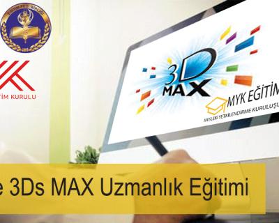 Online 3Ds MAX Uzmanlık Eğitimi