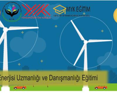 Rüzgar Enerjisi Uzmanlığı ve Danışmanlığı Eğitimi